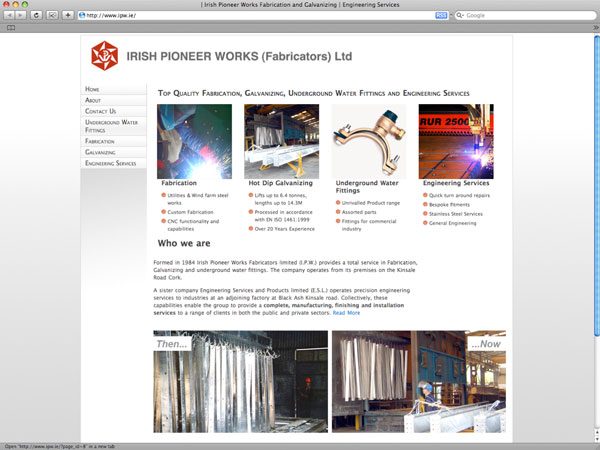 IPW Website Homepage