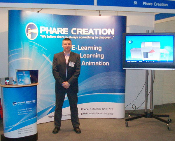 phare_creation_stand_at_learning_expo_london